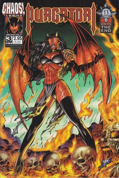Purgatori #3 comic books for sale
