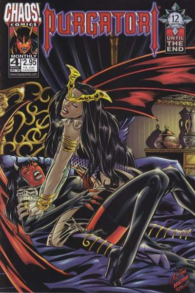 Purgatori #4 comic books for sale