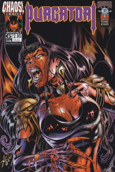 Purgatori #6 comic books for sale