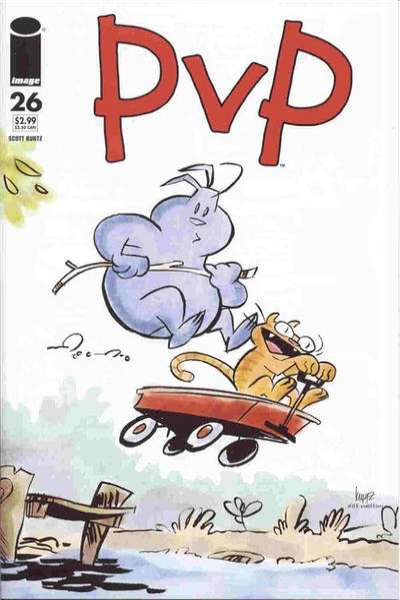 PvP #26 Comic Books - Covers, Scans, Photos  in PvP Comic Books - Covers, Scans, Gallery