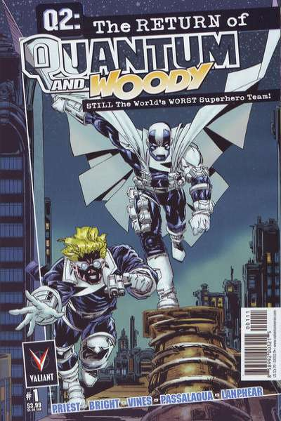 Q2: The Return of Quantum and Woody Comic Books. Q2: The Return of Quantum and Woody Comics.