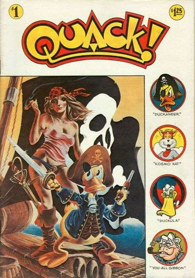 Quack! #1 comic books - cover scans photos Quack! #1 comic books - covers, picture gallery
