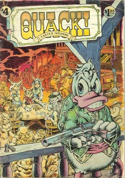 Quack! #4 Comic Books - Covers, Scans, Photos  in Quack! Comic Books - Covers, Scans, Gallery
