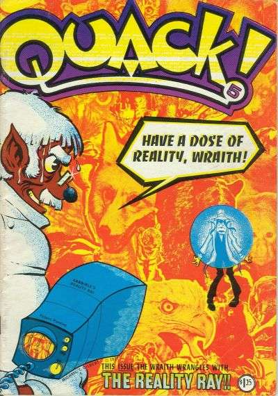 Quack! #5 Comic Books - Covers, Scans, Photos  in Quack! Comic Books - Covers, Scans, Gallery