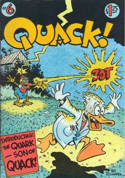 Quack! #6 Comic Books - Covers, Scans, Photos  in Quack! Comic Books - Covers, Scans, Gallery