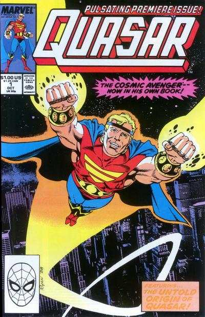 Quasar Comic Books. Quasar Comics.