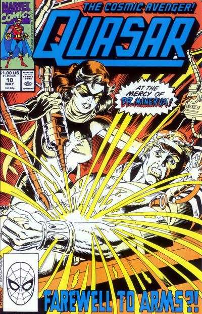 Quasar #10 Comic Books - Covers, Scans, Photos  in Quasar Comic Books - Covers, Scans, Gallery