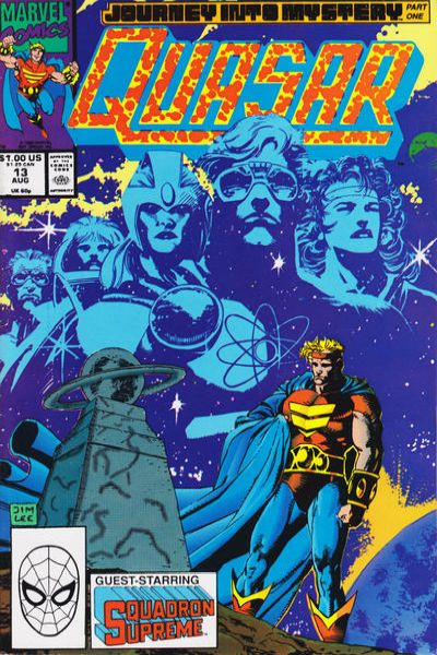 Quasar #13 Comic Books - Covers, Scans, Photos  in Quasar Comic Books - Covers, Scans, Gallery