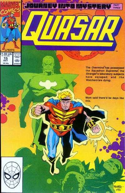 Quasar #15 Comic Books - Covers, Scans, Photos  in Quasar Comic Books - Covers, Scans, Gallery