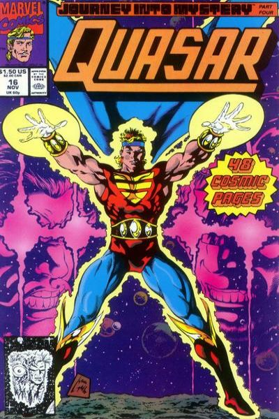 Quasar #16 comic books - cover scans photos Quasar #16 comic books - covers, picture gallery