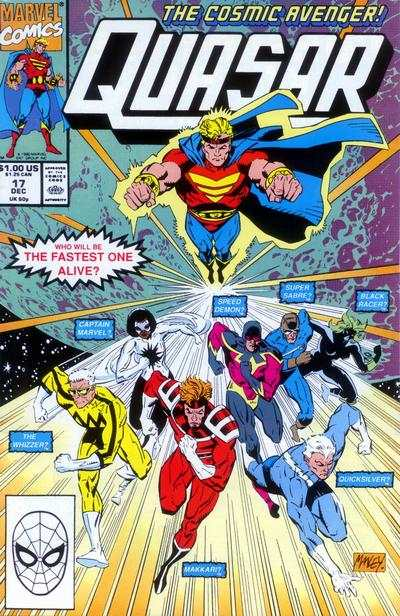 Quasar #17 comic books for sale