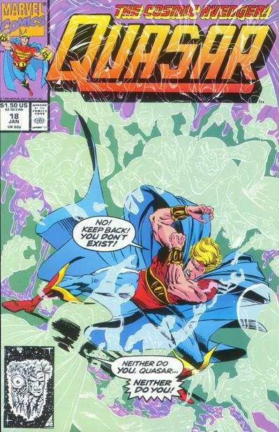 Quasar #18 comic books for sale