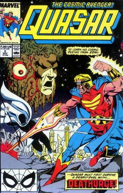 Quasar #2 Comic Books - Covers, Scans, Photos  in Quasar Comic Books - Covers, Scans, Gallery