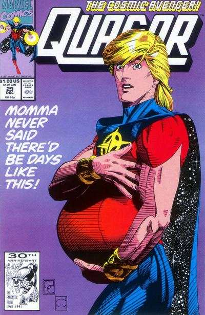 Quasar #29 comic books - cover scans photos Quasar #29 comic books - covers, picture gallery