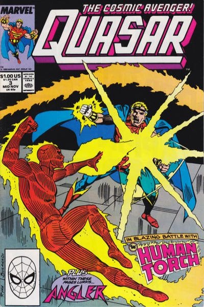 Quasar #3 comic books - cover scans photos Quasar #3 comic books - covers, picture gallery