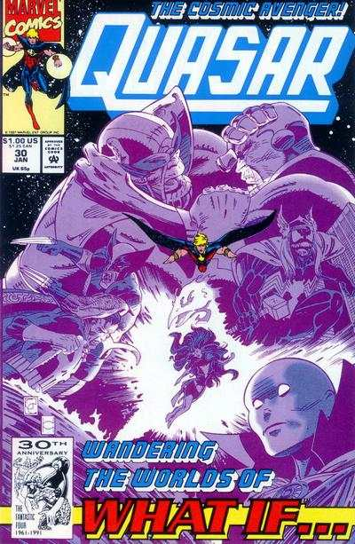 Quasar #30 comic books for sale