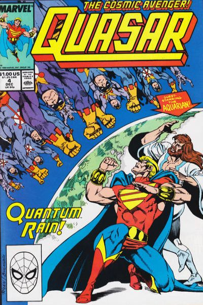 Quasar #4 comic books - cover scans photos Quasar #4 comic books - covers, picture gallery