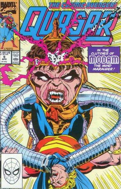 Quasar #9 comic books - cover scans photos Quasar #9 comic books - covers, picture gallery