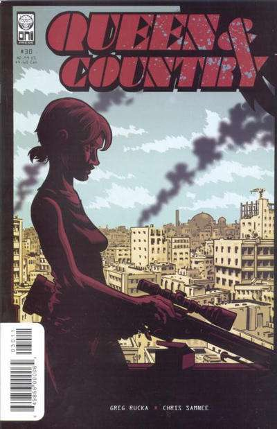 Queen & Country #30 Comic Books - Covers, Scans, Photos  in Queen & Country Comic Books - Covers, Scans, Gallery