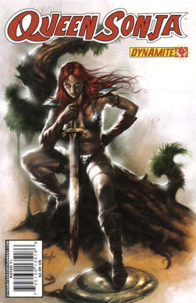 Queen Sonja #4 comic books for sale