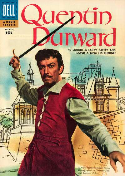 Quentin Durward Comic Books. Quentin Durward Comics.
