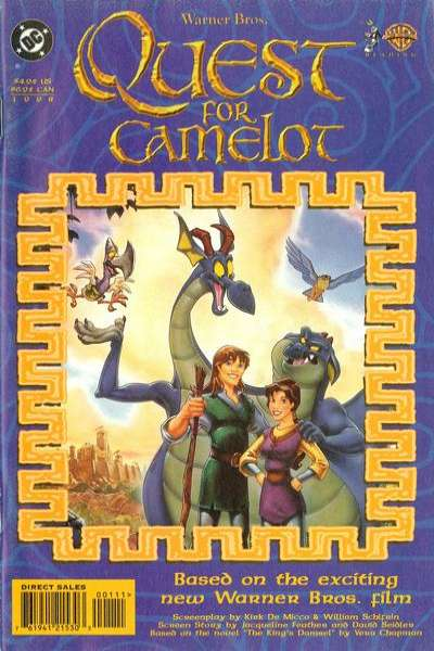 Quest for Camelot Comic Books. Quest for Camelot Comics.
