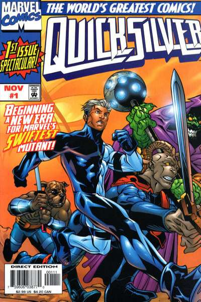 Quicksilver Comic Books. Quicksilver Comics.