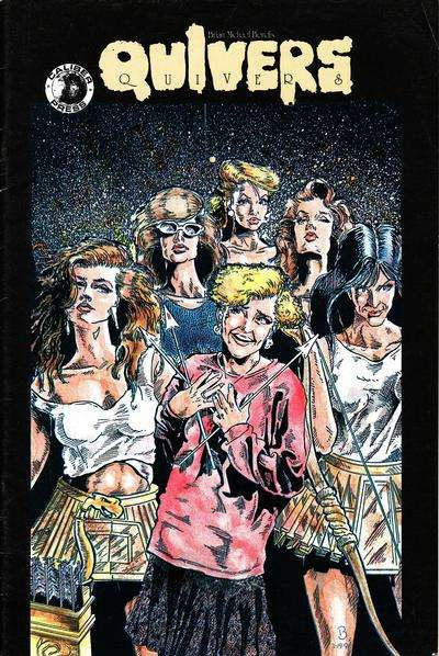 Quivers #1 comic books - cover scans photos Quivers #1 comic books - covers, picture gallery