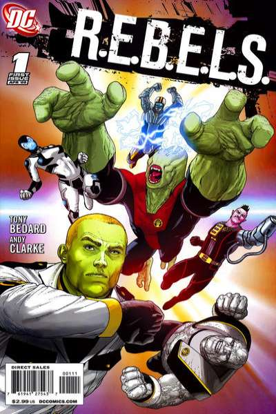 R.E.B.E.L.S. comic books