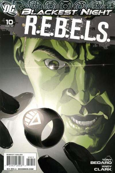R.E.B.E.L.S. #10 comic books - cover scans photos R.E.B.E.L.S. #10 comic books - covers, picture gallery