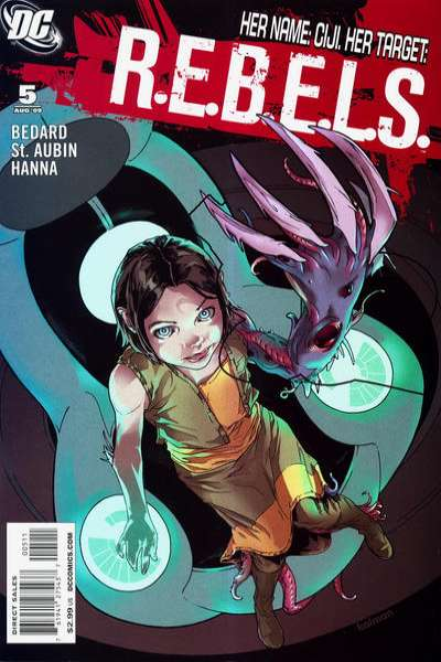 R.E.B.E.L.S. #5 comic books - cover scans photos R.E.B.E.L.S. #5 comic books - covers, picture gallery