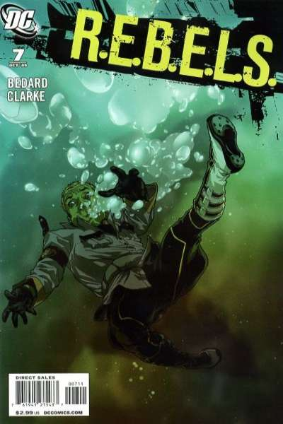 R.E.B.E.L.S. #7 comic books for sale