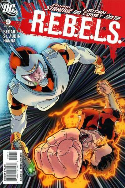 R.E.B.E.L.S. #9 Comic Books - Covers, Scans, Photos  in R.E.B.E.L.S. Comic Books - Covers, Scans, Gallery