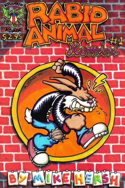 Rabid Animal Komix #1 comic books for sale