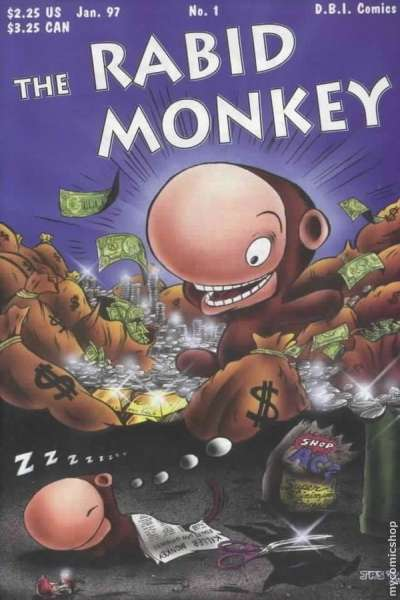 Rabid Monkey #1 comic books - cover scans photos Rabid Monkey #1 comic books - covers, picture gallery