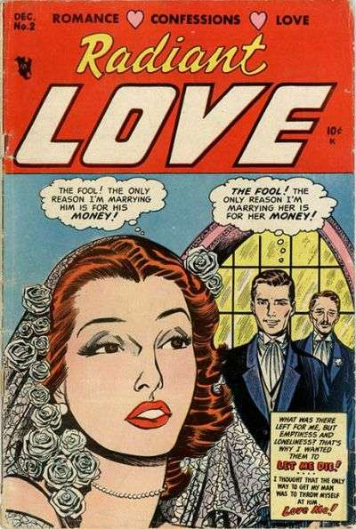Radiant Love Comic Books. Radiant Love Comics.