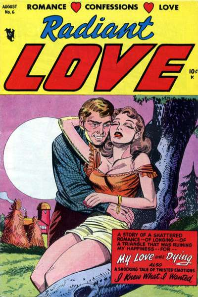 Radiant Love #6 comic books - cover scans photos Radiant Love #6 comic books - covers, picture gallery