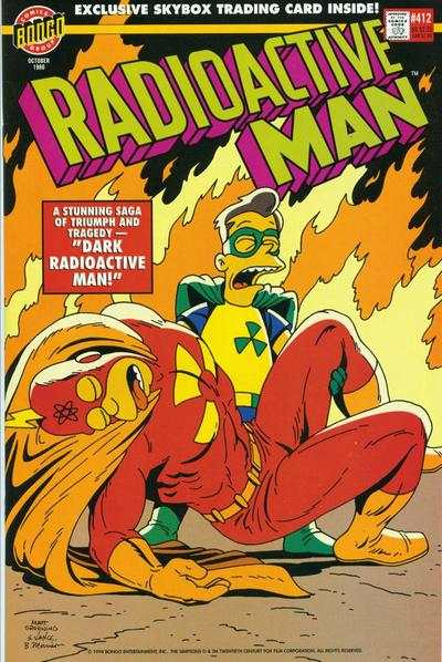 Radioactive Man #4 comic books - cover scans photos Radioactive Man #4 comic books - covers, picture gallery