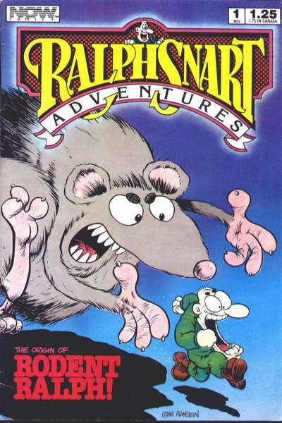Ralph Snart Adventures comic books