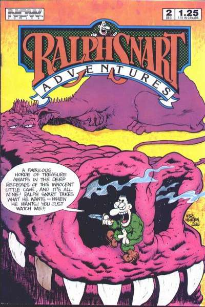 Ralph Snart Adventures #2 comic books - cover scans photos Ralph Snart Adventures #2 comic books - covers, picture gallery