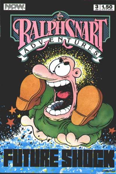 Ralph Snart Adventures #3 comic books for sale