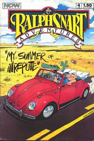 Ralph Snart Adventures #4 comic books for sale