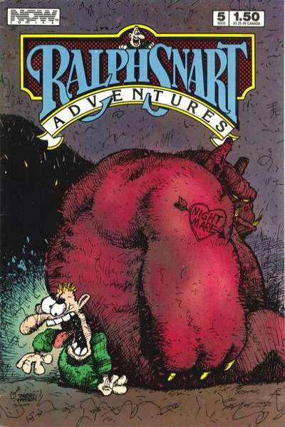 Ralph Snart Adventures #5 comic books - cover scans photos Ralph Snart Adventures #5 comic books - covers, picture gallery
