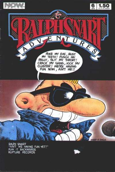 Ralph Snart Adventures #6 comic books - cover scans photos Ralph Snart Adventures #6 comic books - covers, picture gallery