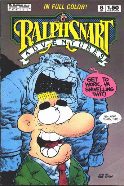 Ralph Snart Adventures #8 comic books - cover scans photos Ralph Snart Adventures #8 comic books - covers, picture gallery