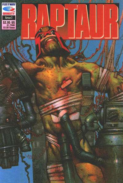 Raptaur #2 Comic Books - Covers, Scans, Photos  in Raptaur Comic Books - Covers, Scans, Gallery