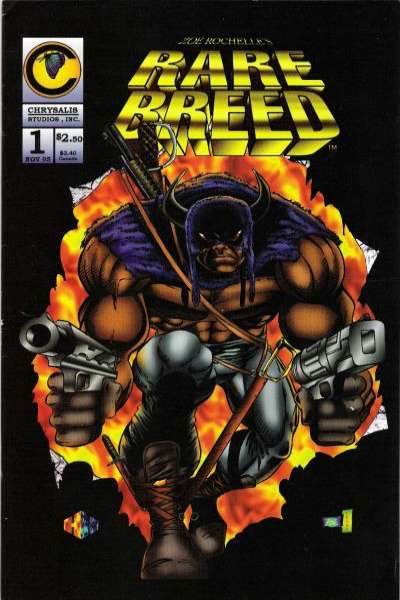 Rare Breed comic books