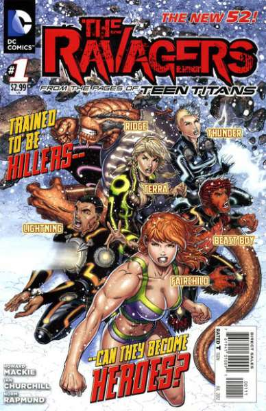 Ravagers comic books