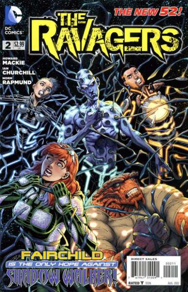 Ravagers #2 comic books - cover scans photos Ravagers #2 comic books - covers, picture gallery