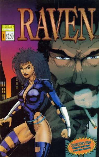 Raven comic books